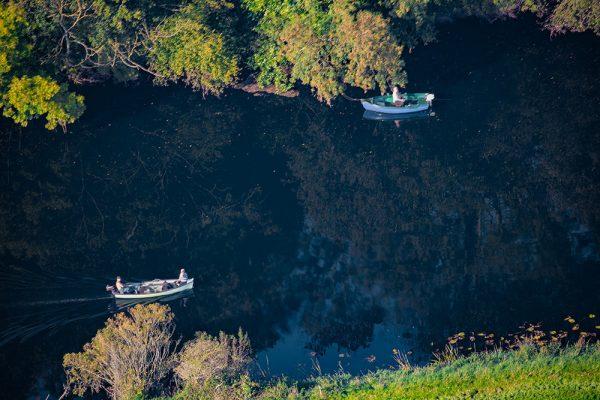 Fishermen on the Blackwater River County Cork