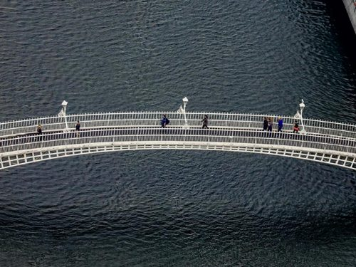 H'Apenny Bridge Dublin