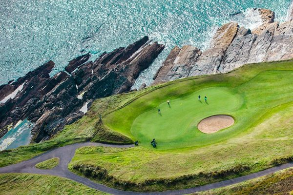 Old Head Golf Links 18th hole