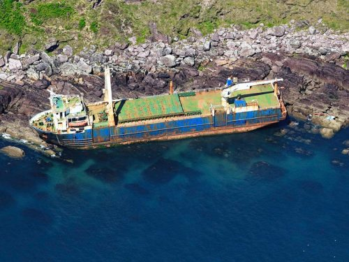 Wreck of MV Alta, Ballycotton, East Cork