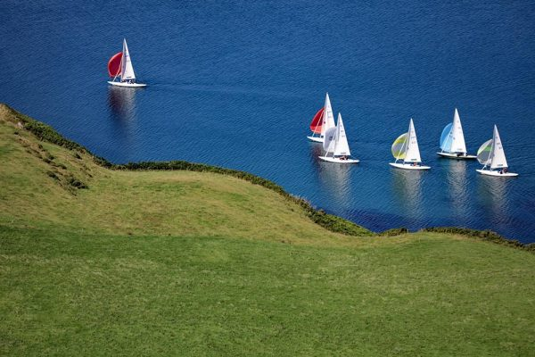 Yachts off Castletownsend West Cork