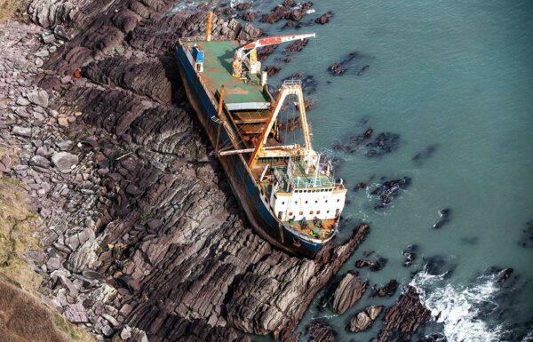 Wreck of the MV Alta