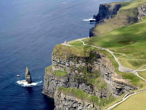 O'Brien's Tower Cliffs of Moher – version 1