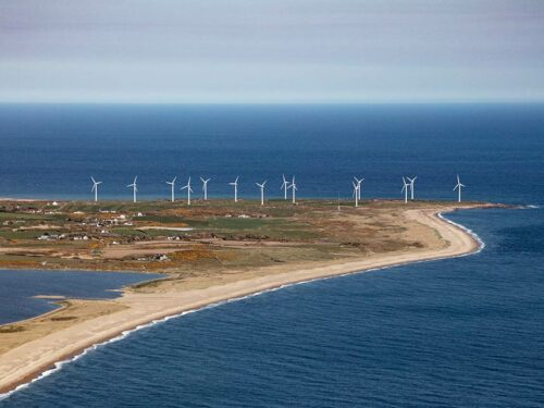 Wind Turbines Carnsore Point Wexford